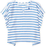 Ralph Lauren Girl Striped Cotton Cover-Up
