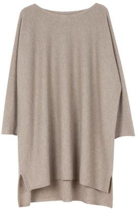 Arela Eelia Cashmere Tunic In Soft Brown