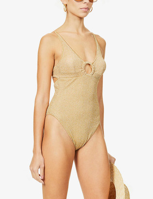 Oseree Ring tie-back swimsuit