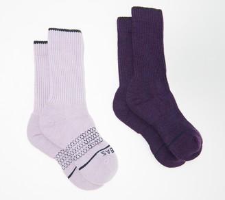 Bombas Set of 2 Merino Wool Calf Socks