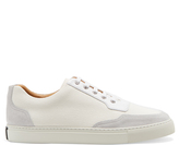 Harry's of London Mr Jones coated-canvas and suede low-top trainers