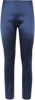 Essentials Bi-Stretch Silk Skinny Trousers