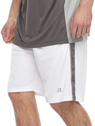 Russell Athletic Big & Tall Russell Striped Athletic Shorts