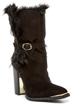 Rachel Zoe Bardot Genuine Sheep Fur Lined Boot