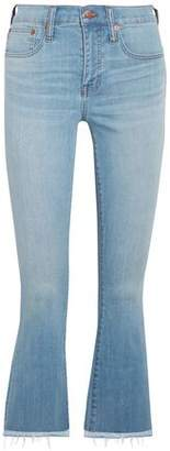 Madewell Cali Cropped High-rise Bootcut Jeans