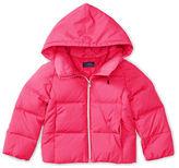 Ralph Lauren Girls 2-6x Quilted Hooded Jacket