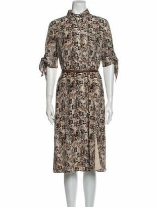 Altuzarra 2020 Midi Length Dress w/ Tags Grey