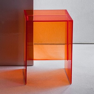 Kartell Max-Beam End Table Color: Crystal