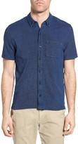Michael Bastian Men's Pique Button Front Shirt