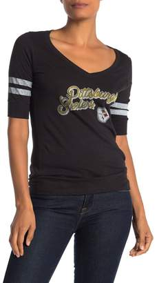 '47 Pittsburgh Steelers Elbow Sleeve Graphic T-shirt