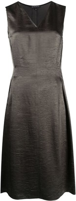 Ann Demeulemeester knee-length V-neck dress