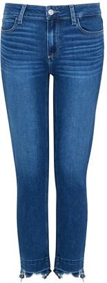 Paige Skyline Skinny Cropped Jeans