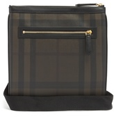 Burberry Beckley leather-trimmed cross-body bag