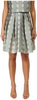 RED Valentino Daisies Lurex Jacquard Skirt