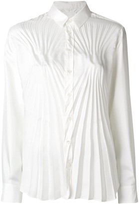 Maison Margiela Pleated Fitted Shirt