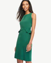 Ann Taylor Petite Peplum Sheath Dress