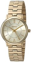 DKNY Women's 'Willoughby' Quartz Stainless Steel Casual Watch, Color:Gold-Toned (Model: NY2548)