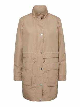 Vero Moda Women's Vmpernilleuni 3/4 Jacket Trenchcoat