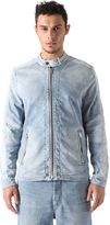 Diesel DieselTM Denim Jackets 0672G - Blue - L
