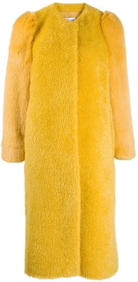 RED Valentino Faux Fur Coat