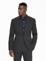 Banana Republic Standard Solid Wool Suit Jacket