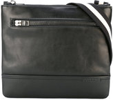 Bally striped strap messenger bag - men - Cotton/Calf Leather - One Size