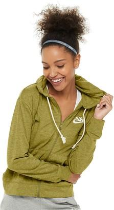 Nike Women's Sportswear Gym Vintage Full-Zip Hoodie