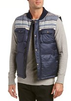 Just A Cheap Shirt Jachs Quilted Wool-blend Vest.