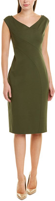 Lafayette 148 New York V-Neck Sheath Dress