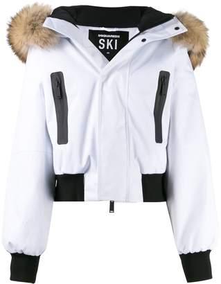 DSQUARED2 zip-front ski jacket