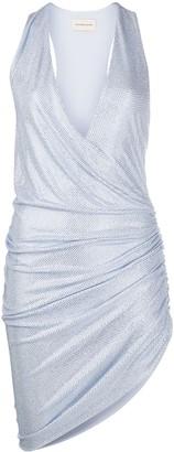 Alexandre Vauthier Embellished Gathered Sides Dress