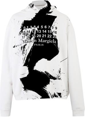 Maison Margiela Branded Hoodie