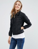 Pepe Jeans Ella Faux Shearling Denim Jacket