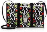 Proenza Schouler Small Multicolor Snakeskin Lunch Shoulder Bag