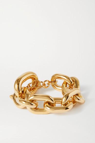 Paco Rabanne Xl Link Gold-tone Bracelet - one size