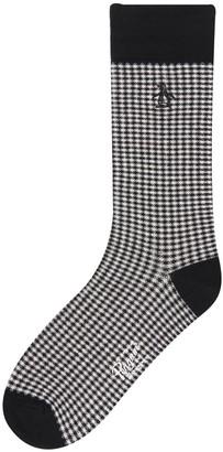 Original Penguin Lewis Gingham Sock