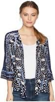 Nic+Zoe Petite Pacific Coast Four-Way Cardy Women's Sweater