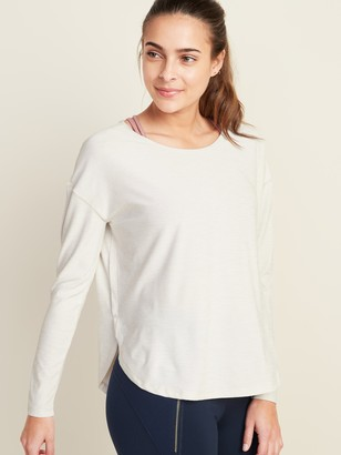 Old Navy Breathe ON Long-Sleeve Performance Top for Women