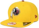 New Era Washington Redskins Draft Redux 9FIFTY Snapback Cap