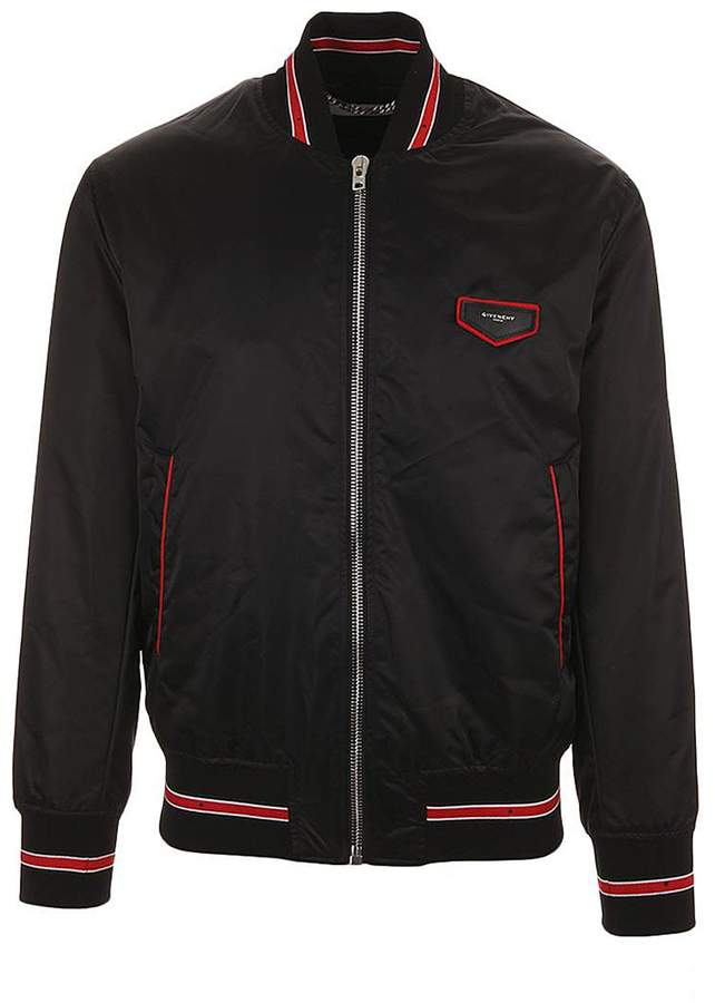 Givenchy Contrasted Bands Bomber Jacket