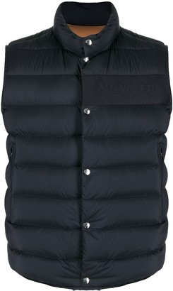 Moncler Debossed Logo High-Neck Gilet