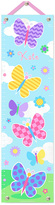 Olive Kids Butterfly Garden Personalized Growth Chart
