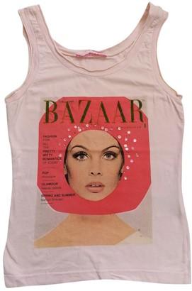 Schumacher Pink Cotton Top for Women