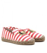 Marc Jacobs STRIPED RAFFIA ESPADRILLES