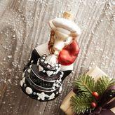Sur La Table Bon Appétit Pig with Cake Ornament