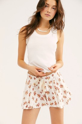 Free People One Of The Girls Printed Shortie