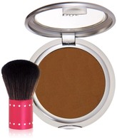 PUR Cosmetics 4-in-1 Pressed Mineral Makeup Foundation SPF 15 with Kabuki Brush - Dark