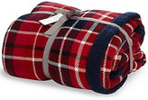 Marks and Spencer Tartan Checked Fleece Throw