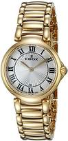 Edox Women's 57002 37RM AR LaPassion Analog Display Swiss Quartz Rose Gold Watch