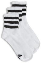 adidas Women's 3-Pack 3-Stripe Ankle Socks